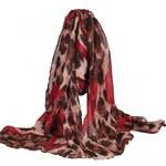 Elega Šátek, šála s leopardím designem