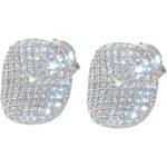 Pattic Stříbrné náušnice s krystaly ITS3354004