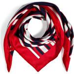 Valentino Silk Striped Scarf