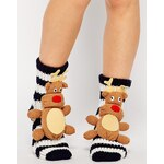 ASOS NORTH STAR Reindeer Socks - Multi