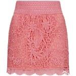 Topshop Crochet Mini Skirt