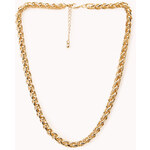 Forever 21 Posh Woven Chain Necklace