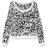 Tally Weijl Black & White Leopard Soft Jumper