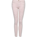 Tally Weijl Pink Destroyed Skinny Pants