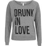 Topshop **Drunk In Love Raglan Pullover by Illustraed People
