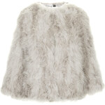 Topshop **Marabou Feather Jacket
