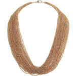 Topshop Fine Layer Multirow Necklace