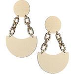 Topshop Oversized Link Drop Earrings