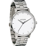 Topshop **Nixon Kensington Silver Watch