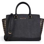 Michael Michael Kors Leather Embellished Side Medium Selma Tote