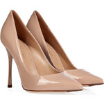 Sergio Rossi Patent Leather Pointed Toe Pumps