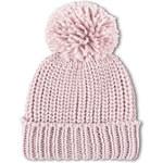 Tally Weijl Pink Knitted Beanie Hat with Pom Pom
