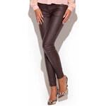 Hnědé kalhoty K231 S