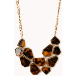FOREVER21 Modernist Bib Necklace