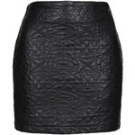 Topshop **Faux Leather Mini Skirt by Goldie