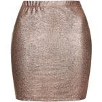 Topshop **Lizard Foil Skirt by Motel