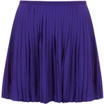 Topshop Blue Pleated Shorts