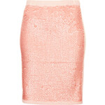 Topshop Knitted Sequin Front Skirt