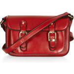 Topshop Front Pocket Satchel