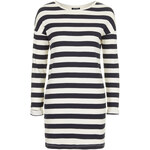 Topshop Striped Ribbed Tunic