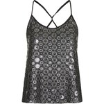 Topshop **Crochet Cami Top by Goldie