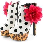 Extravagantní kotníčkové boty Iron Fist