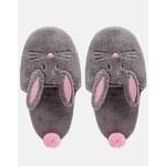 ASOS NIBBLES Rabbit Slippers - Multi