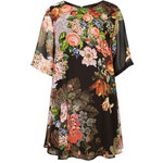 Topshop **Floral Tunic Sleeve Dress by Rare