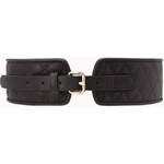 FOREVER21 Iconic Quilted Waist Belt