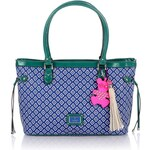 Guess Kory Graphic Medium Classic Tote Bag