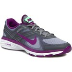 Polobotky NIKE - WMNS Nike Dual Fusion Tr 2 631459 004 Cool Grey/Bright Grape/Light Lcd Green