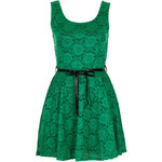 Topshop **Bow Lace Dress by Wal G