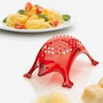 Kasimir ježek struhadlo KOZIOL (barva-TRANSPARENTNĚ ČERVENÁ)
