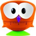 GUFO sova kuchyňská minutka E-my (Barva-ORANŽOVÁ)