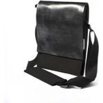 PAYYA M taška na notebook, dokumenty MORROWS (barva-černá)