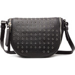 Burberry Shoes & Accessories Leather Shoulder Bag with Eyelets
