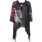 Just Cavalli Printed Silk Chiffon Top