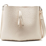 Maison Margiela Small Bucket Textured Leather Shoulder Bag