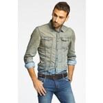 Guess Jeans - Košile Andrea - šedá, M - 200 Kč na první nákup za odběr newsletteru