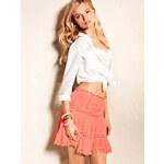Victoria's Secret Cotton Voile Miniskirt