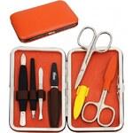 DuKaS Oranžová manikúra Solingen z umělé kůže PL12601