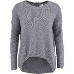 Šedý svetr s angorou Vero Moda Janelle