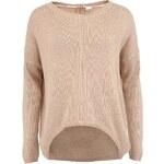 Béžový svetr s angorou Vero Moda Janelle