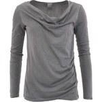 Šedé dámské tričko s dlouhým rukávem Bench Dynghy