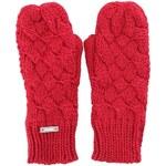 Růžové palcové rukavice Bench Lareyne-B