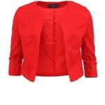 Červené minimalistické sako bez fazony AX Paris