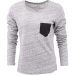 Šedé dámské tričko ZOOT Originál Pocket Černá