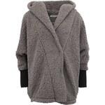 Šedý fleecový kabátek Noisy May Cuddle