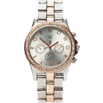 Tally Weijl Silver & Gold Dial Up Watch with Strass