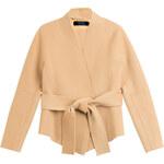 Donna Karan New York Belted Cashmere Wrap Jacket